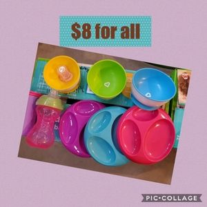 Other - Baby plates and cups